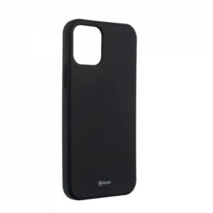 Силиконов гръб ROAR Colorful Jelly - iPhone 12 / 12 Pro черен