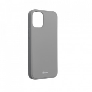 Силиконов гръб ROAR Colorful Jelly - iPhone 12 Mini сив