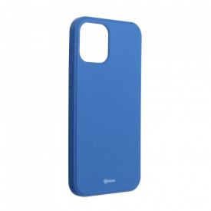 Силиконов гръб ROAR Colorful Jelly - iPhone 12 Pro Max син