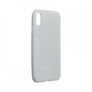 Силиконов гръб ROAR Colorful Jelly - iPhone X / XS сив