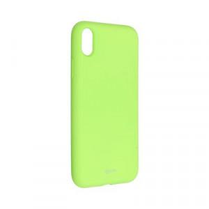 Силиконов гръб ROAR Colorful Jelly - iPhone XR лайм