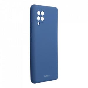 Силиконов гръб ROAR Colorful Jelly - Samsung Galaxy A42 5G тъмносин