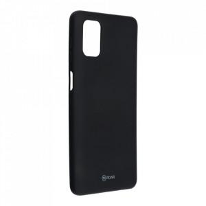 Силиконов гръб ROAR Colorful Jelly - Samsung Galaxy M51 черен