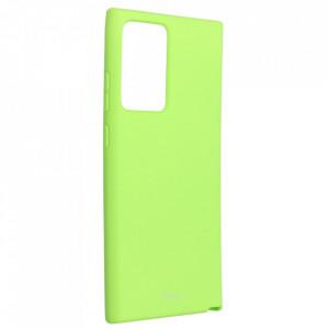 Силиконов гръб ROAR Colorful Jelly - Samsung Galaxy Note 20 Ultra лайм