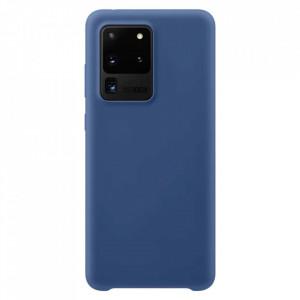 Силиконов гръб Soft Flexible Rubber - Samsung Galaxy S20 Ultra тъмносин