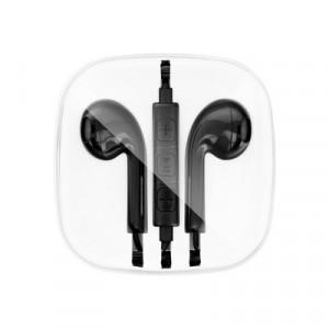 Стерео слушалки NEW BOX за Apple 3.5mm жак черни