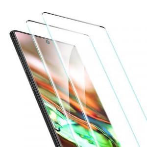 2 бр. 3D закален стъклен протектор с пълно покритие ESR - Samsung Galaxy Note 10 черен