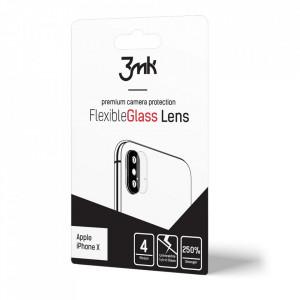 4 бр. гъвкав протектор за камера 3MK - Samsung Galaxy A20e