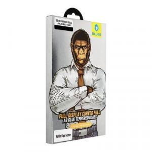 5D Full AB Glue закален стъклен протектор MR. MONKEY - Samsung Galaxy Note 10 черен с инструмент за поставяне