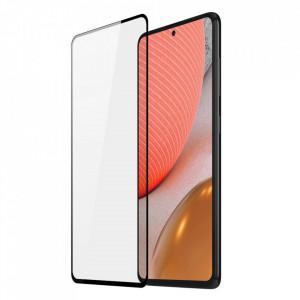 9D закален стъклен протектор DUX DUCIS с пълно покритие и рамка – Samsung Galaxy A72/A72 5G черен (съвместим с гръб)