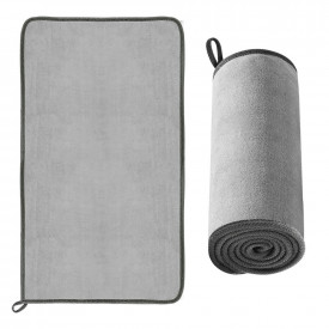 BASEUS microfiber towel to dry washing car 40 cm x 80 cm gray (CRXCMJ-A0G)