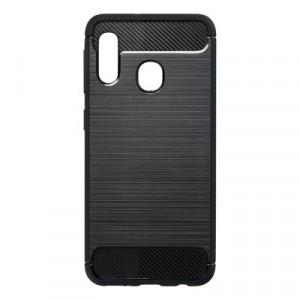 Гръб FORCELL Carbon - Samsung Galaxy A20e черен