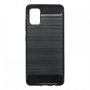 Гръб FORCELL Carbon - Samsung Galaxy A51 черен