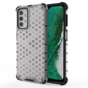 Гръб Honeycomb Armor със силиконов бъмпер - Samsung Galaxy A32 5G прозрачен