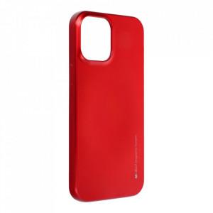 Гръб i-Jelly Mercury - iPhone 12 Pro Max червен