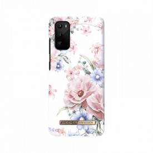 Гръб iDeal Of Sweden - Samsung Galaxy S20 бял-цветя