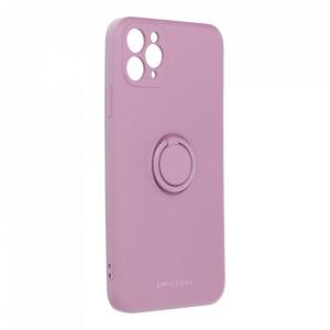 Гръб Roar Amber с държач - iPhone 11 Pro Max лилав