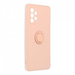 Гръб Roar Amber с държач - Samsung Galaxy A72 5G / A72 розов