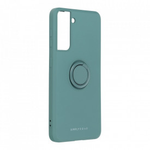 Гръб Roar Amber с държач - Samsung Galaxy S21 зелен