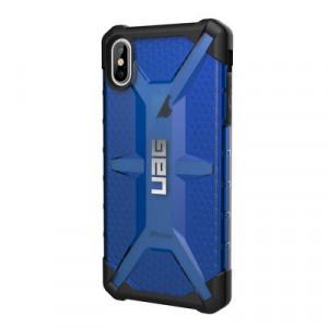 Гръб UAG Plasma - iPhone XS Max син прозрачен