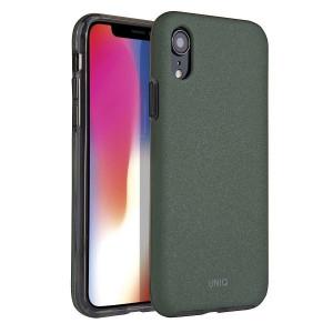 Гръб UNIQ Lithos - iPhone XR маслина