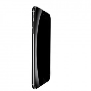 Извит закален стъклен протектор с устойчиви ръбове BASEUS 0.23mm - iPhone 7 Plus / 8 Plus черен (SGAPIPH8P-GPE01)