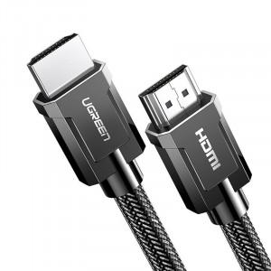 Кабел Ugreen HDMI 2.0 4K 60Hz 3D 18Gbps 2m сив (HD136 70324)