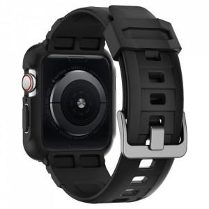 Каишка Spigen Rugged Armor - Apple Watch 4 44mm черен