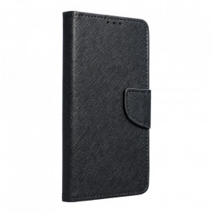 Калъф тип книга Fancy - Samsung Galaxy A12 черен