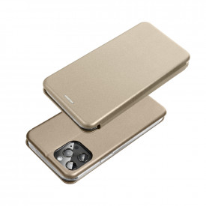 Калъф тип книга FORCELL Elegance - Samsung Galaxy A32 LTE златист