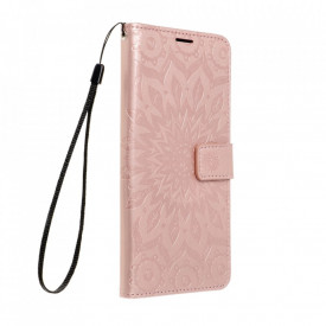 Калъф тип книга Forcell MEZZO - Xiaomi Redmi Note 10 5G / Poco M3 Pro / Poco M3 Pro 5G мандала / розово злато