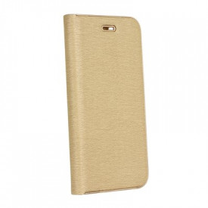 Калъф тип книга Luna - Huawei P20 Lite златен