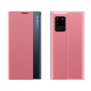 Калъф тип книга New Sleep със стойка - Samsung Galaxy A52 5G / A52 4G розов