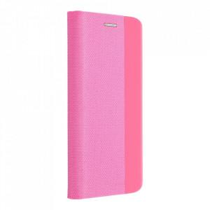 Калъф тип книга Sensitive - Samsung Galaxy A12 розов