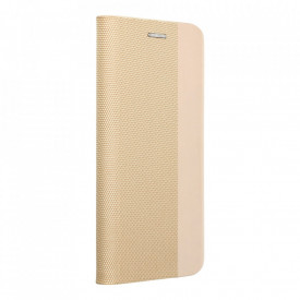 Калъф тип книга Sensitive - Xiaomi Redmi 9C / 9C NFC златен