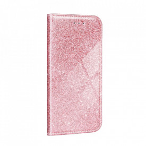 Калъф тип книга Shining - Xiaomi Redmi Note 9T 5G розов