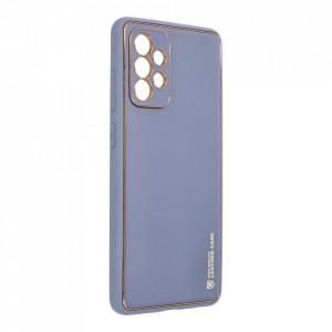 Кожен гръб Forcell LEATHER - Samsung Galaxy A72 ( 4G ) син