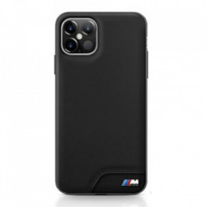 Оригинален гръб BMW BMHCP12SMHOLBK - iPhone 12 Mini черен