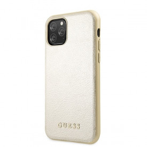 Оригинален гръб GUESS Iridescent - iPhone 11 Pro златен