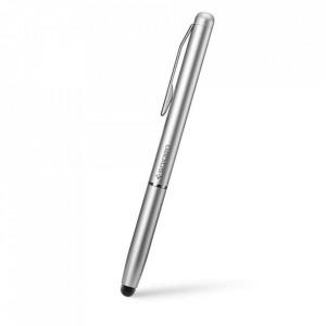 Писалка за телефон или таблет Spigen Stylus Pen сребърен