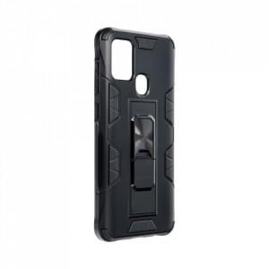 Подсилен гръб със стойка Forcell DEFENDER - Samsung Galaxy A42 5G черен