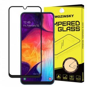 Протектор с пълно покритие и рамка WOZINSKY - Samsung Galaxy A30 / A30s / A50 черен