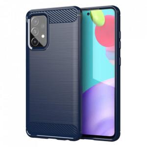 Силиконов гръб Carbon - Samsung Galaxy A72/A72 5G син
