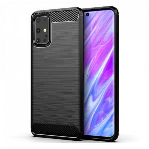 Силиконов гръб Carbon - Samsung Galaxy S20 Ultra черен