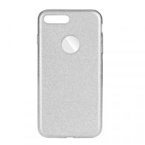 Силиконов гръб FORCELL Shining - iPhone 7 Plus / 8 Plus сребрист