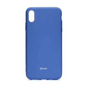 Силиконов гръб ROAR Colorful Jelly - iPhone XS Max тъмносин