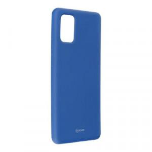 Силиконов гръб ROAR Colorful Jelly - Samsung Galaxy A71 тъмносин