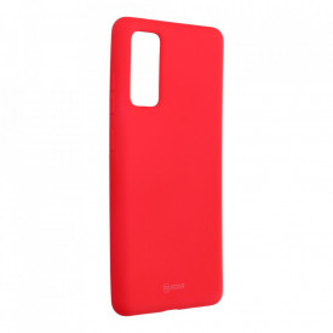 Силиконов гръб ROAR Colorful Jelly - Samsung Galaxy S20 FE / S20 FE 5G ярко розов