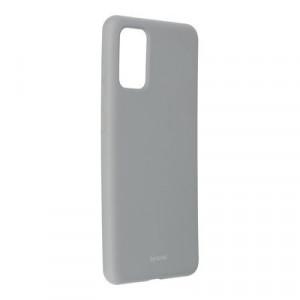 Силиконов гръб ROAR Colorful Jelly - Samsung Galaxy S20 Plus сив