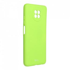 Силиконов гръб ROAR Colorful Jelly - Xiaomi Redmi Note 9 5G лайм